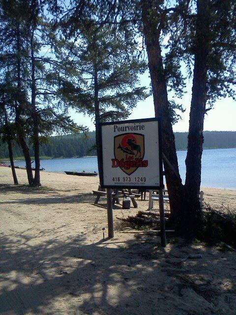 lac dégelis