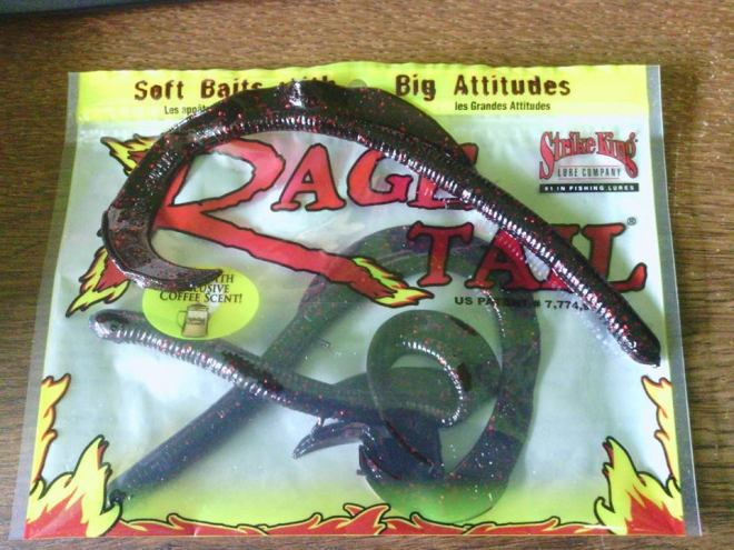 Anaconda rage tail 7 inch